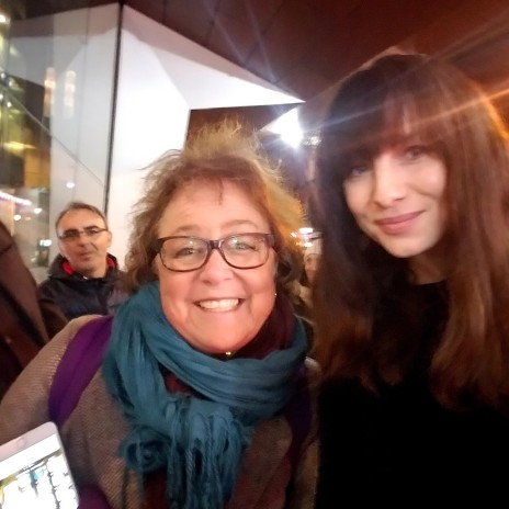 Andree with cait at the Baftas, Nov 2017.jpg