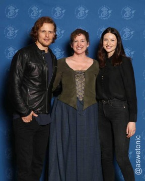 Anne with Sam and Caitriona at ECCC