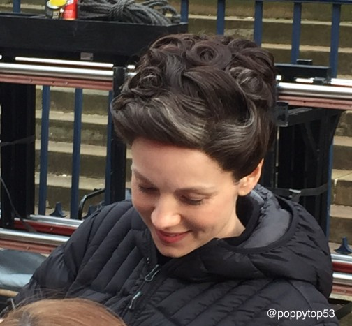 Cait while filming in Glasgow.jpg