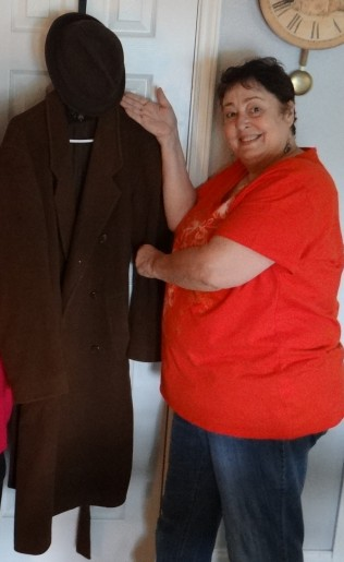 me with Sam's coat from Emulsion