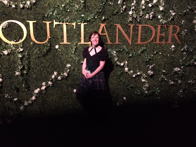 Emma at Outlander party