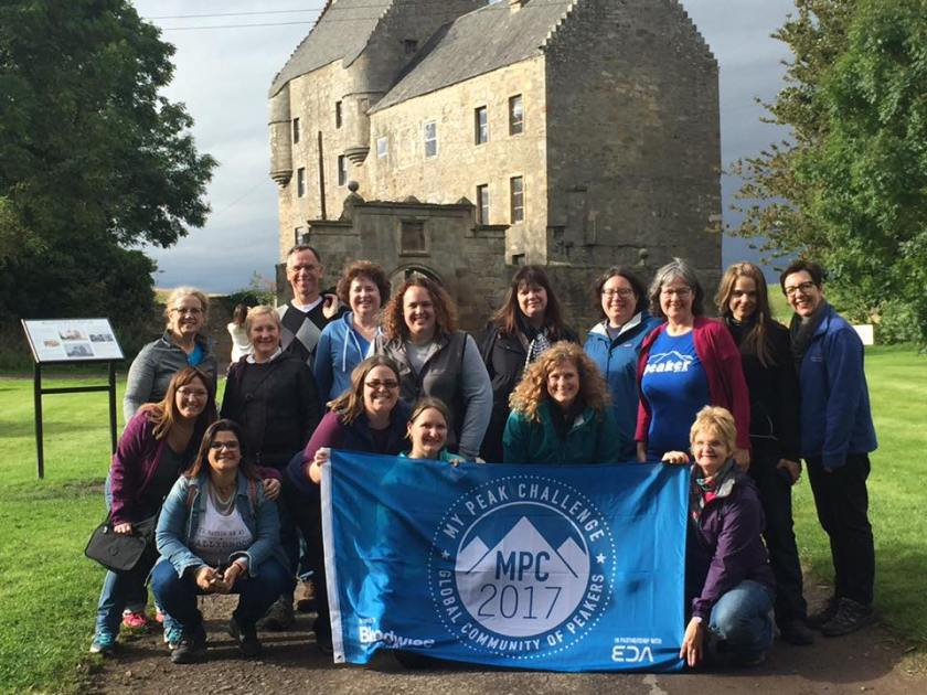 Peakers at Lallybroch close up